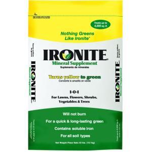 Nothing greens like Ironite